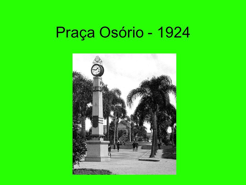 Rua Comendador Araújo anos 20