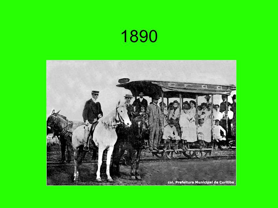 Passeio Público - 1886 O parque mais antigo da cidade, no ano da sua inauguração