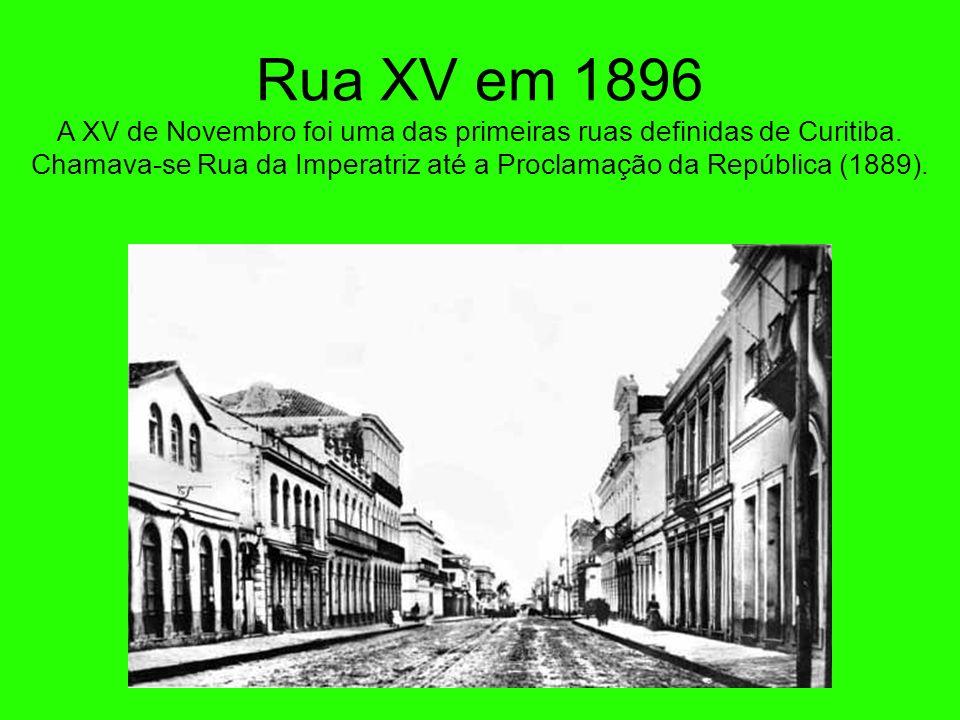 O atual prédio da Câmara Municipal - 1892 Na então Rua da Liberdade, hoje Rua Barão do Rio Branco. Inicialmente funcionou ali o Congresso Legislativo