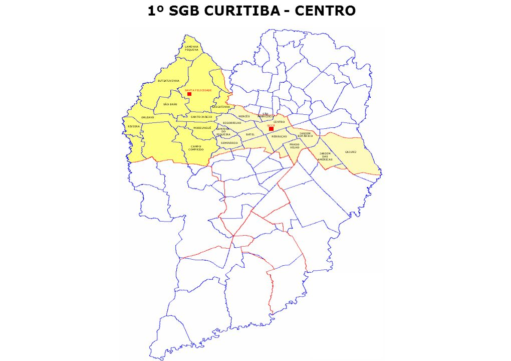 1º SGB CURITIBA - CENTRO