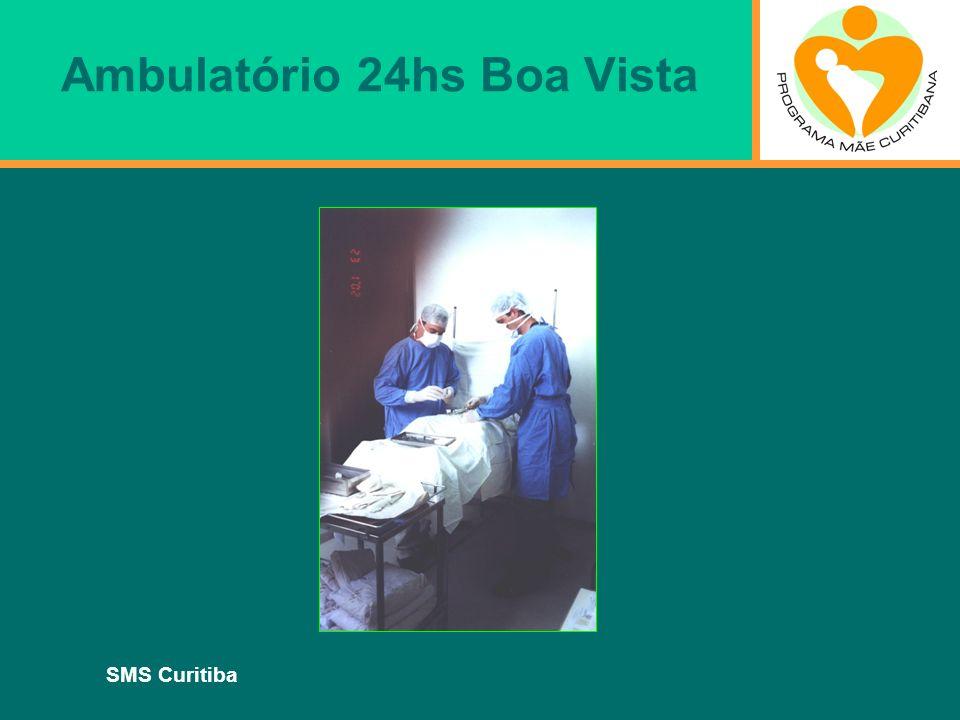 SMS Curitiba Ambulatório 24hs Boa Vista