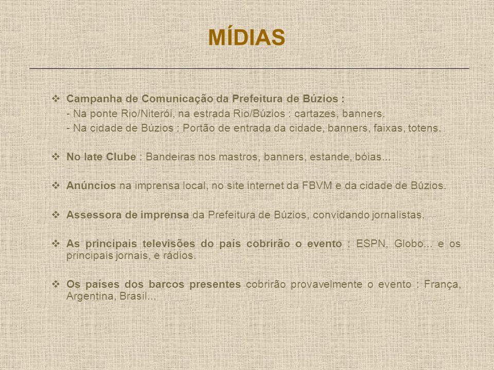 CONTATO A Media Mundi é a representante do Iate Clube de Armação de Búzios.