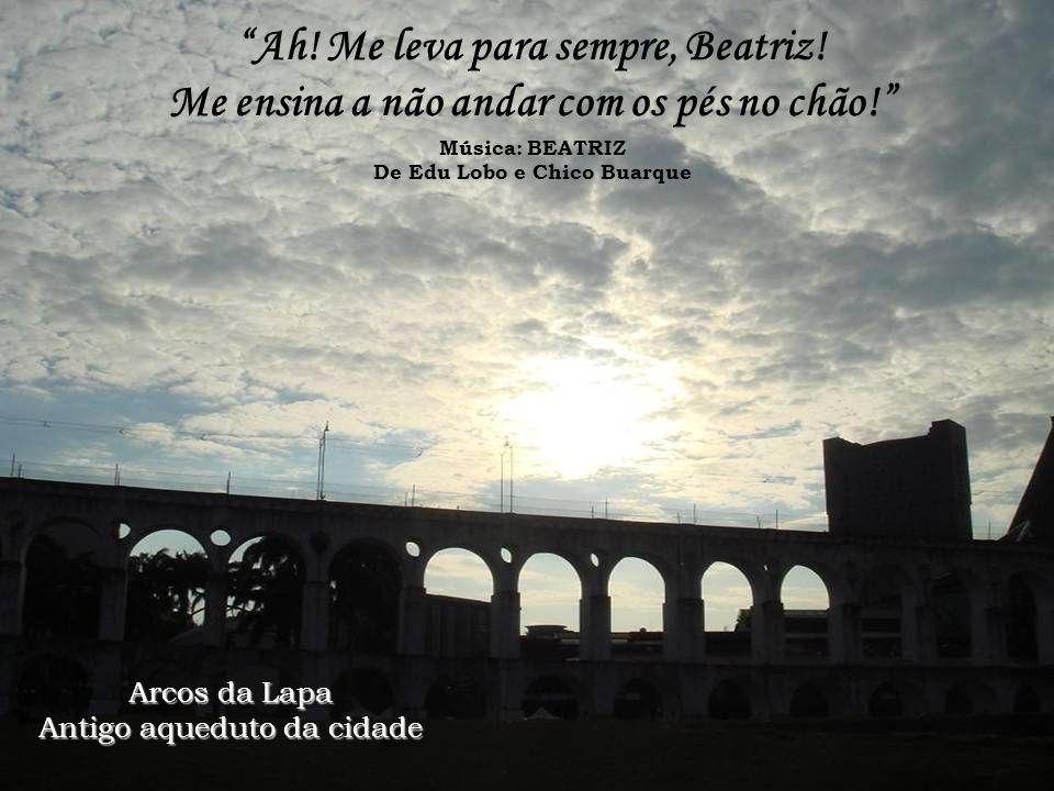 Ponte Rio-Niterói Vista do Morro da Urca Morro da Urca Fotografei você na minha Rolleiflex Revelou-se a sua enorme ingratidão Música: DESAFINADO De To