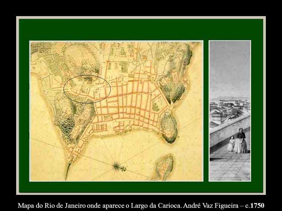 EXCURSÃO AO LARGO DA CARIOCA 1898 Uma homenagem aos profissionais de Turismo da Cidade do Rio de Janeiro, sobretudo aos Guias.