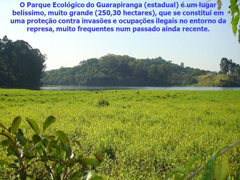 Fica no Parque Ecológico do Guarapiranga, às margens da represa, no bairro de Riviera Paulista, em São Paulo.