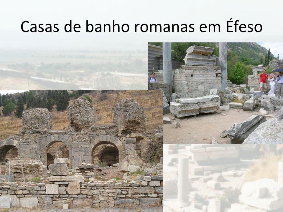 Casas de banho romanas em Éfeso