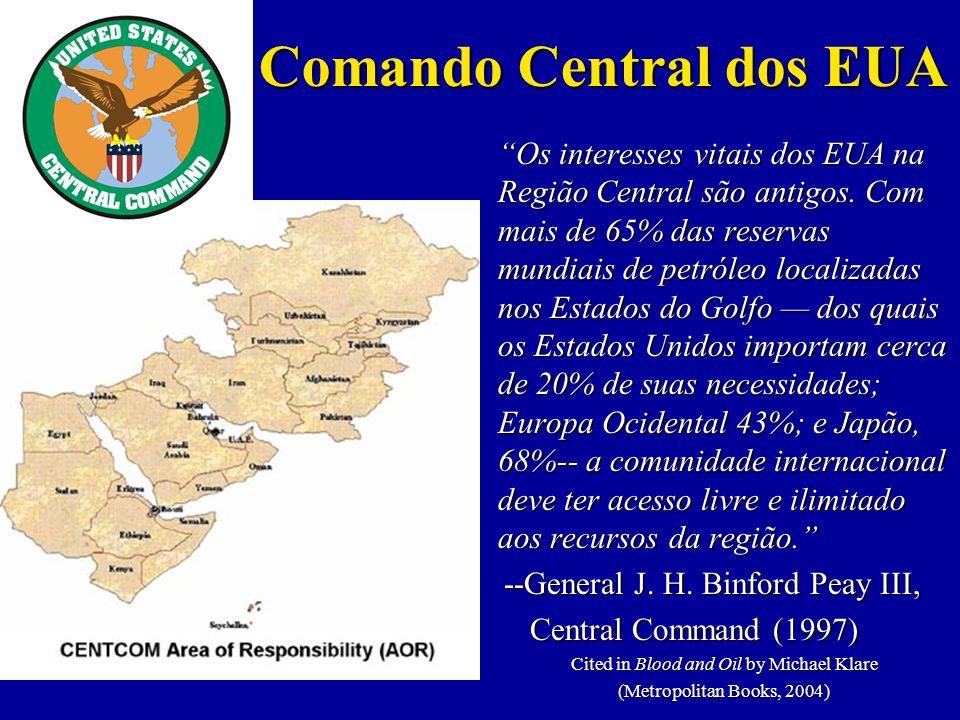 Os interesses vitais dos EUA na Região Central são antigos.