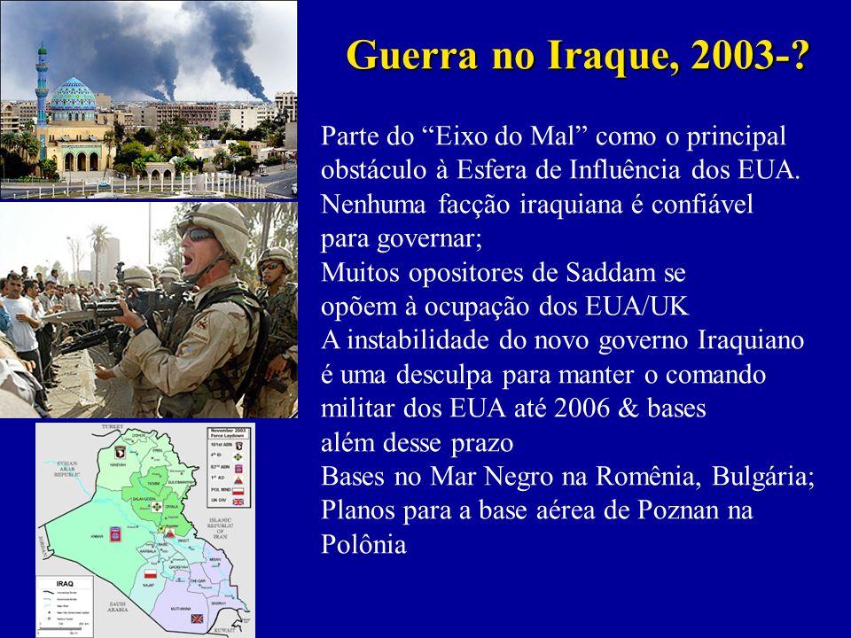 Guerra no Iraque, 2003-.
