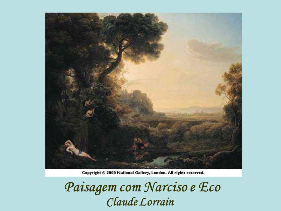 Paisagem com Narciso e Eco Claude Lorrain