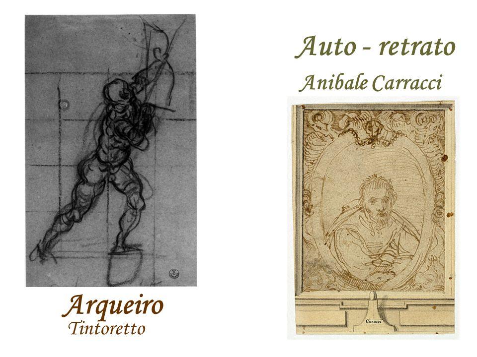 Arqueiro Auto - retrato Tintoretto Anibale Carracci