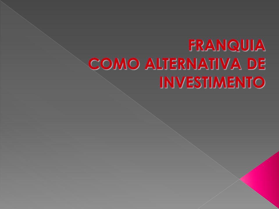 O sistema de franquias é o método de expansão empresarial maior e com mais êxito de quantos existem na atualidade.