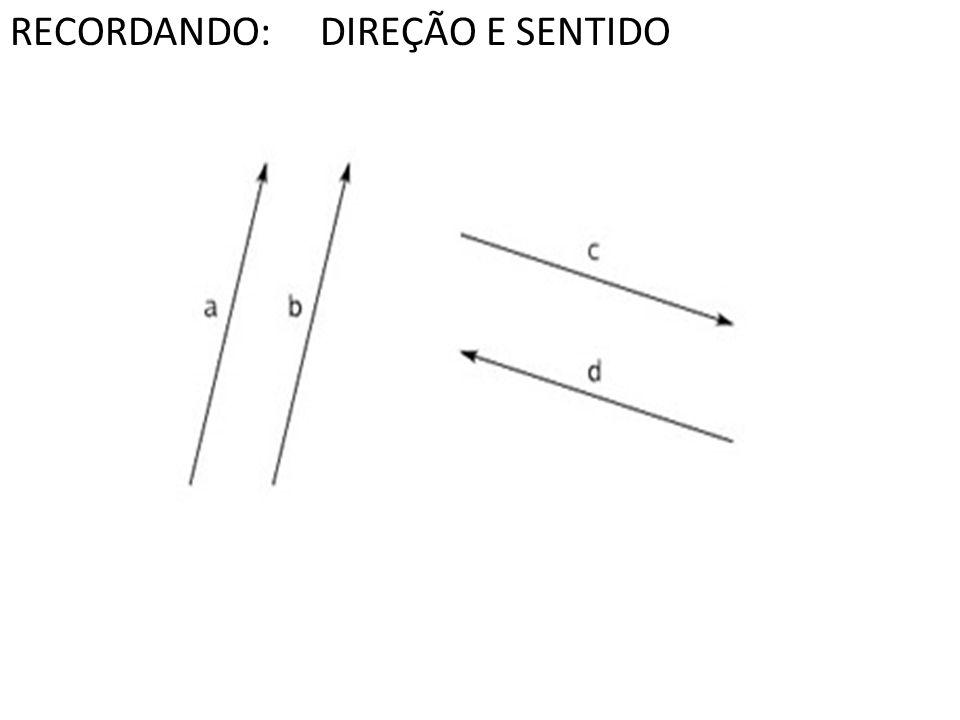 Soma de Vetores tome um segmento orientado que representa V; tome um segmento orientado que representa W, com origem na extremidade de V; o vetor V +W é representado pelo segmento orientado que vai da origem de V até a extremidade de W.