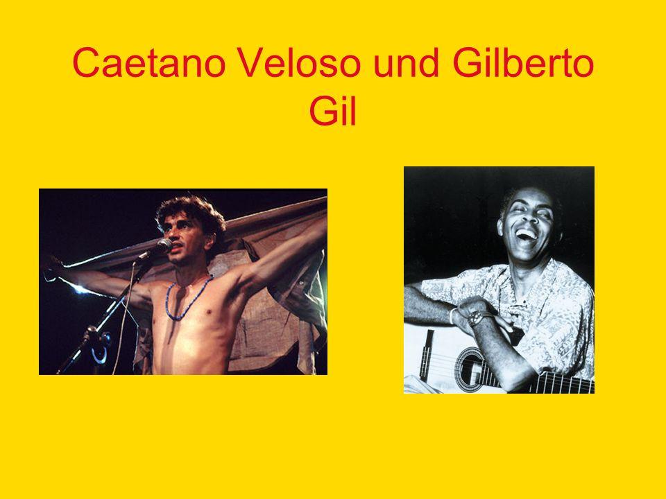 Caetano Veloso und Gilberto Gil