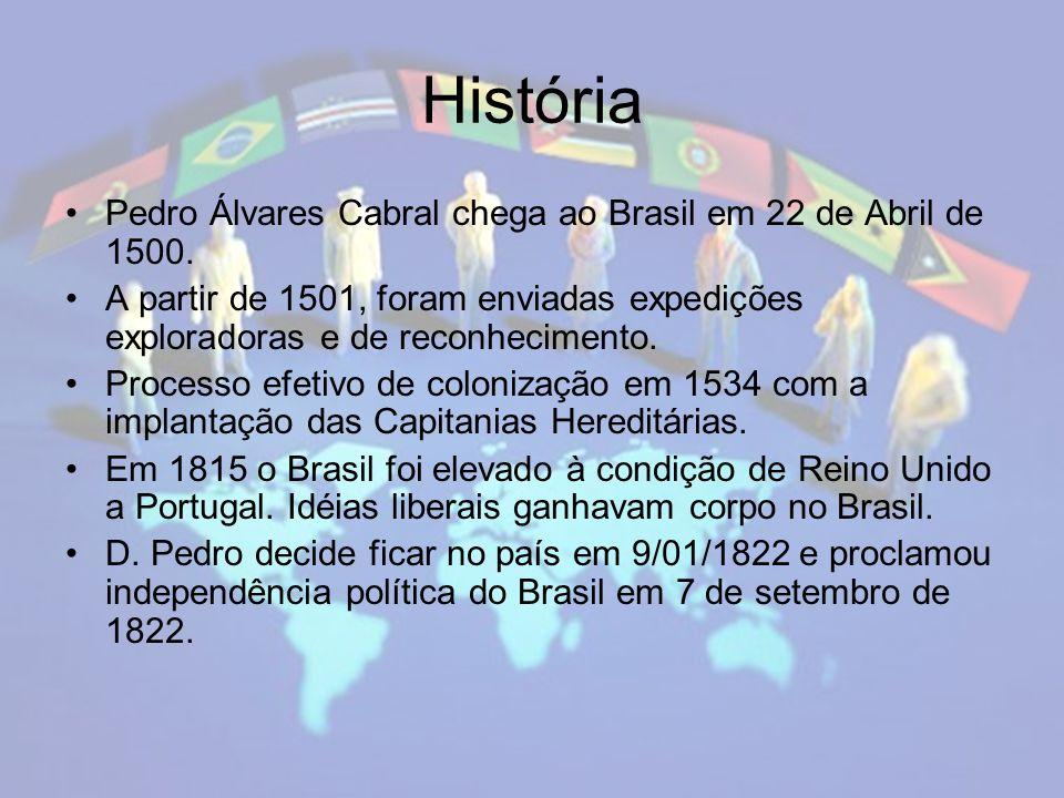 Língua brasileira Em um primeiro momento a língua portuguesa entra em contato com a língua indígena de diversos povos, principalmente do Tupi-guarani.