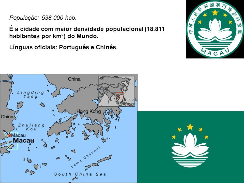 Início da ocupação portuguesa em 1557 – ocupação gradual.