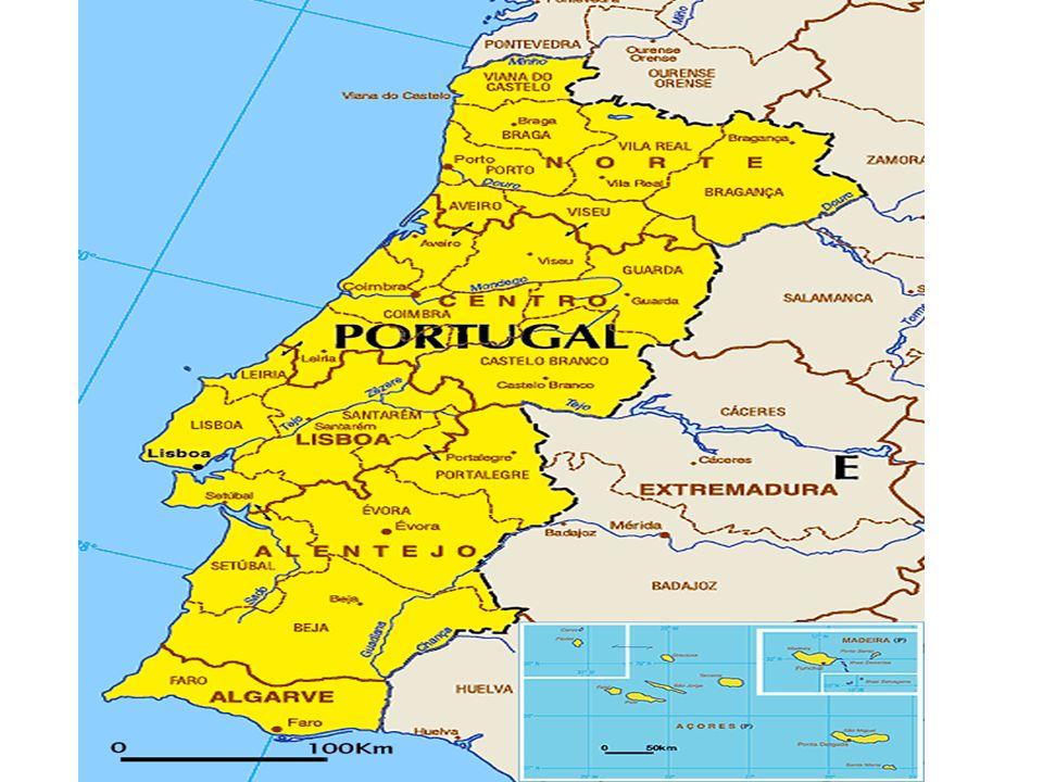 Portugal Nome oficial - República Portuguesa População - 10,9 milhões Instauração da República – 1910 Sistema Político - democracia RELIGIÃO: cristianismo 94,8% (católicos 92,2%, protestantes 1,5%, outros cristãos 1,1%), islamismo 0,1%, sem filiação e outras 5,1% TAXA DE ANALFABETISMO: 7,8%
