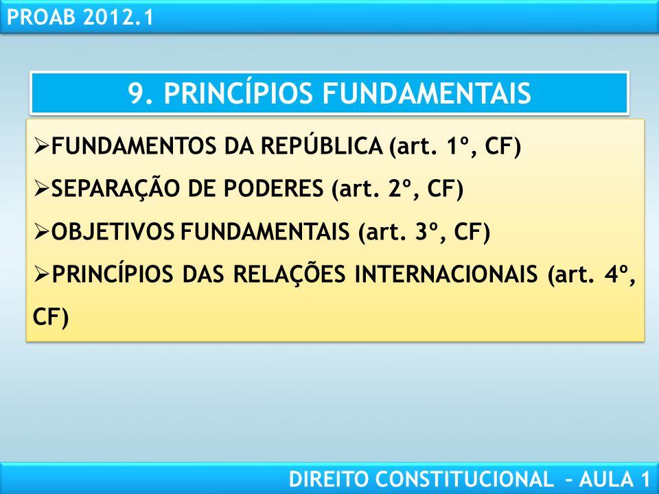 RESPONSABILIDADE CIVIL AULA 1 PROAB 2012.1 DIREITO CONSTITUCIONAL – AULA 1 8. ESTRUTURA DA CONSTITUIÇÃO PREÂMBULO PARTE PERMANENTE ADCT PREÂMBULO PART