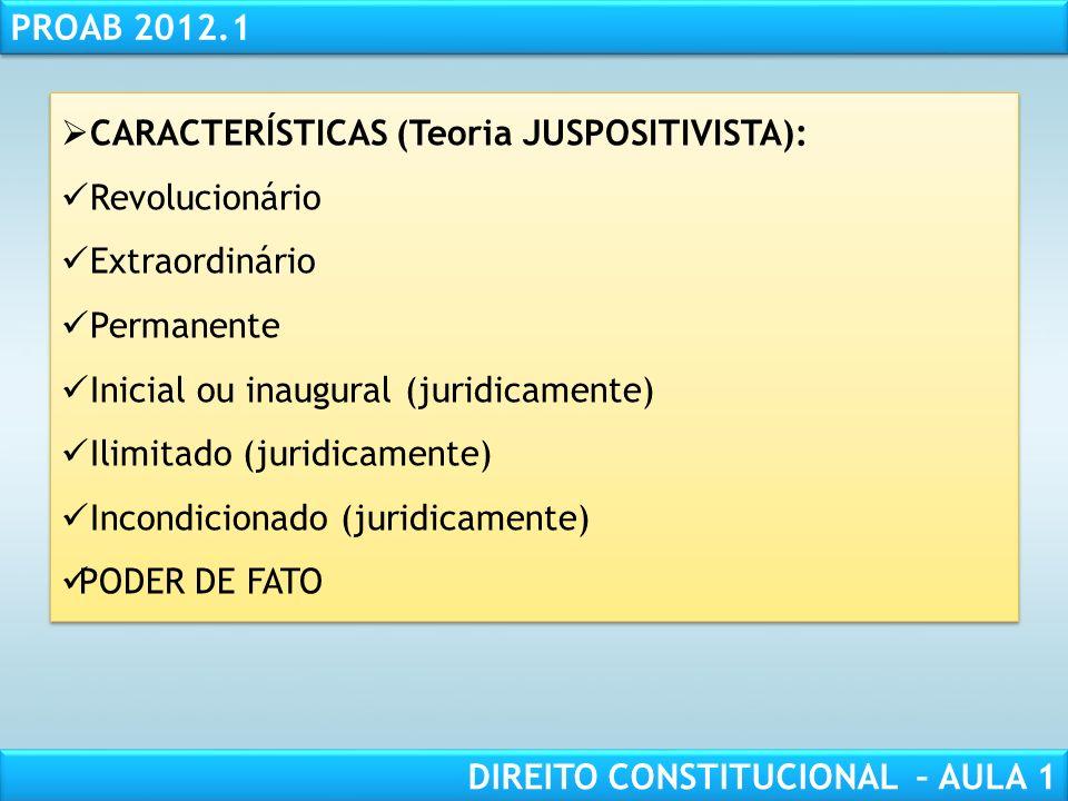 RESPONSABILIDADE CIVIL AULA 1 PROAB 2012.1 DIREITO CONSTITUCIONAL – AULA 1 LIMITES ÀS EMENDAS CONSTITUCIONAIS: EXPRESSOS: Formais (art.