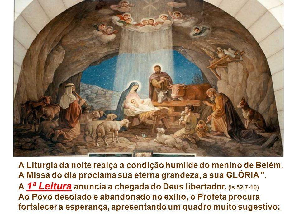 A liturgia de hoje nos convida a contemplar o amor de Deus, manifestado na encarnação de Jesus… Ele é a