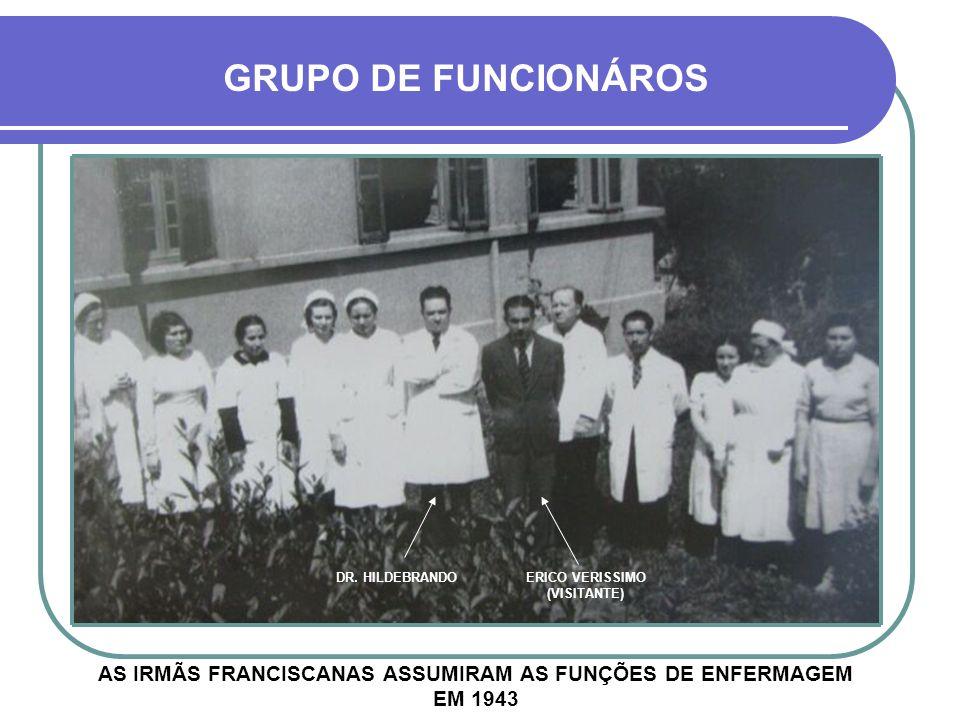 VISITA ILUSTRE O FAMOSO ATOR DA ÉPOCA PROCÓPIO FERREIRA TAMBÉM PRESTIGIOU A INAUGURAÇÃO DO HOSPITAL SANTA LÚCIA PROCÓPIO FERREIRA DR. HILDEBRANDO