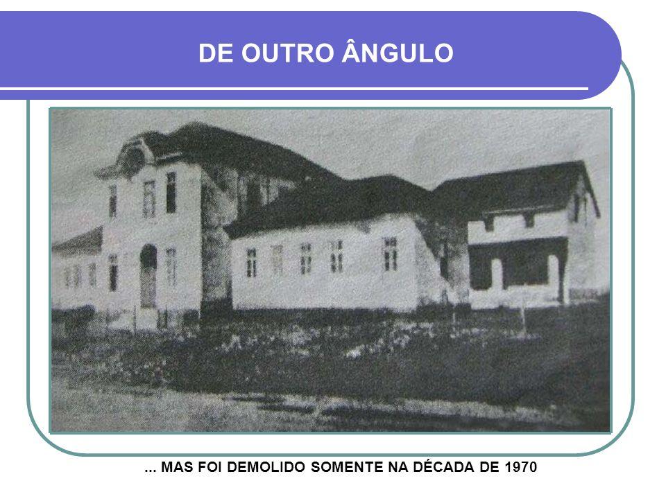 ESSE ANTIGO COMPLEXO DEIXOU DE FUNCIONAR NA DÉCADA DE 1940... JÁ COM OUTRO PAVILHÃO À DIREITA PAVILHÃO AMÉLIA BRENNER