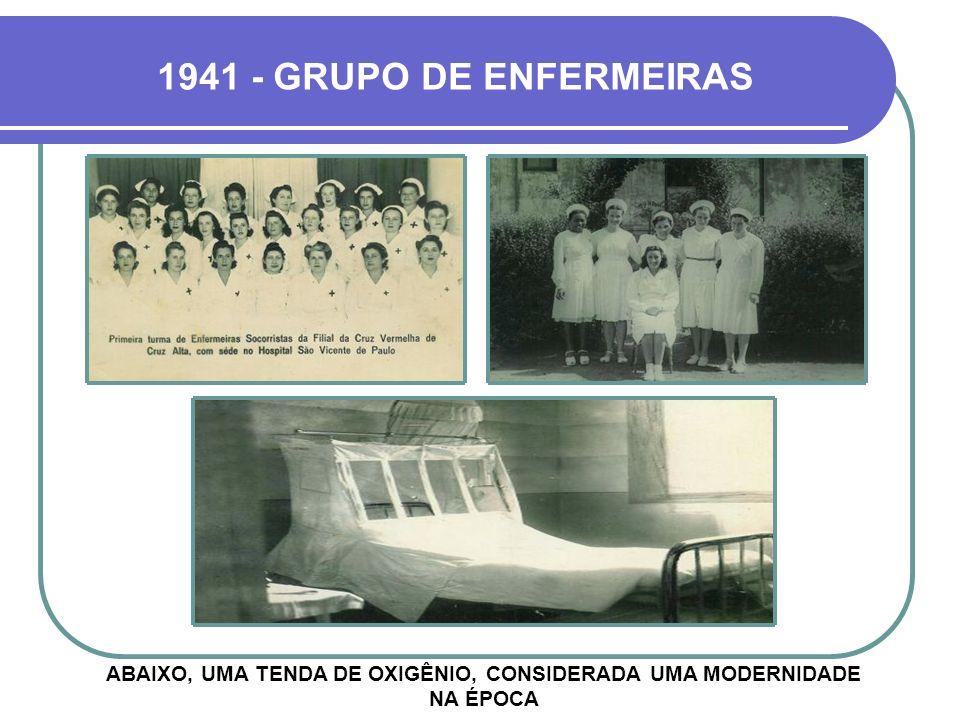 1943 - EXEMPLO DE SOLIDARIEDADE DR. GABRIEL MIRANDA ERA CONHECIDO POR SUA GENEROSIDADE E COM FREQUÊNCIA O HSV PROMOVIA CAMPANHAS DE DISTRIBUIÇÃO DE RO