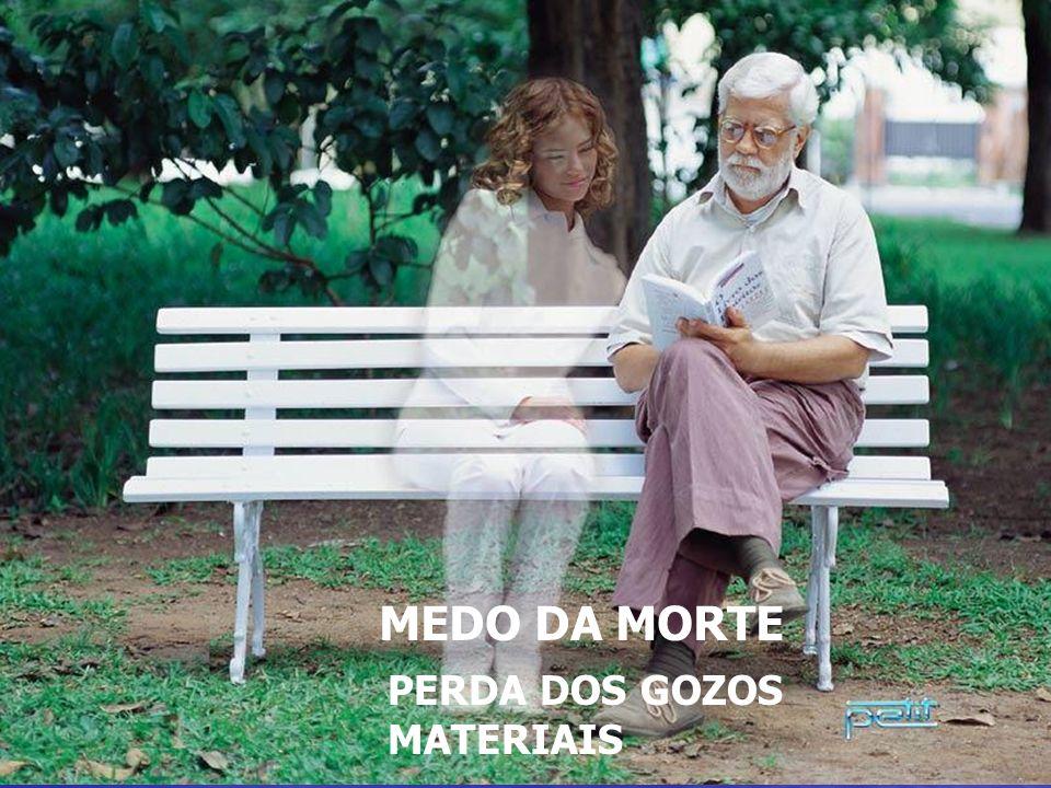 MEDO DA MORTE – PERDA DOS GOZOS MATERIAIS MEDO DA MORTE PERDA DOS GOZOS MATERIAIS