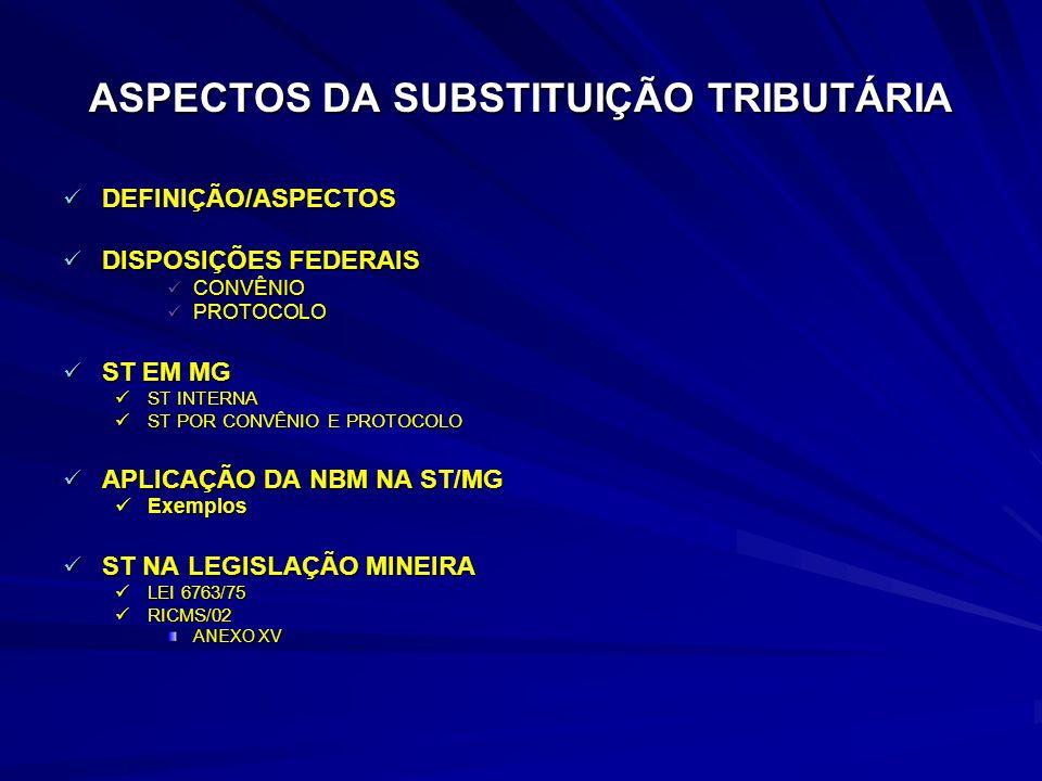RESTITUIÇÃO DE ICMS/ST Art.25.