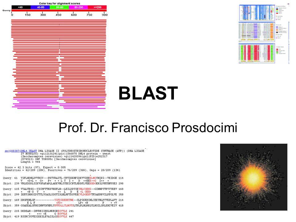 BLAST Prof. Dr. Francisco Prosdocimi