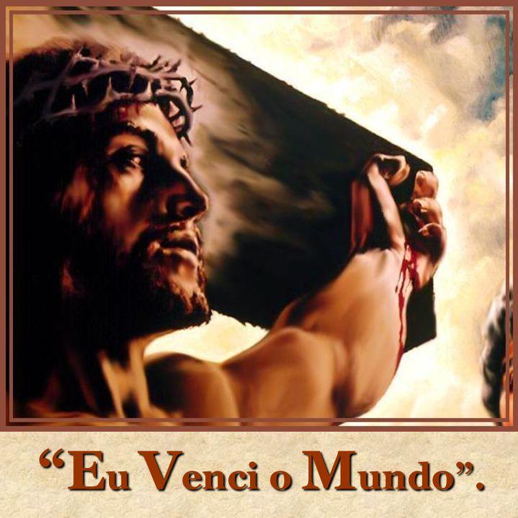 Recordai do Senhor: No mundo somente tereis aflições, mas lembrai-vos de Mim.