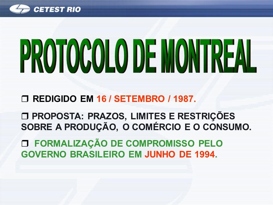 REDIGIDO EM 16 / SETEMBRO / 1987.