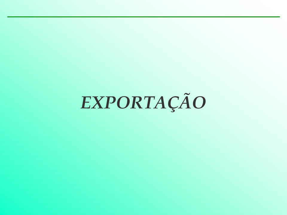 TRATAMENTO ADMINISTRATIVO NO COMÉRCIO EXTERIOR – EXPORTAÇÃO CONCEITO É a saída de mercadoria do território aduaneiro.