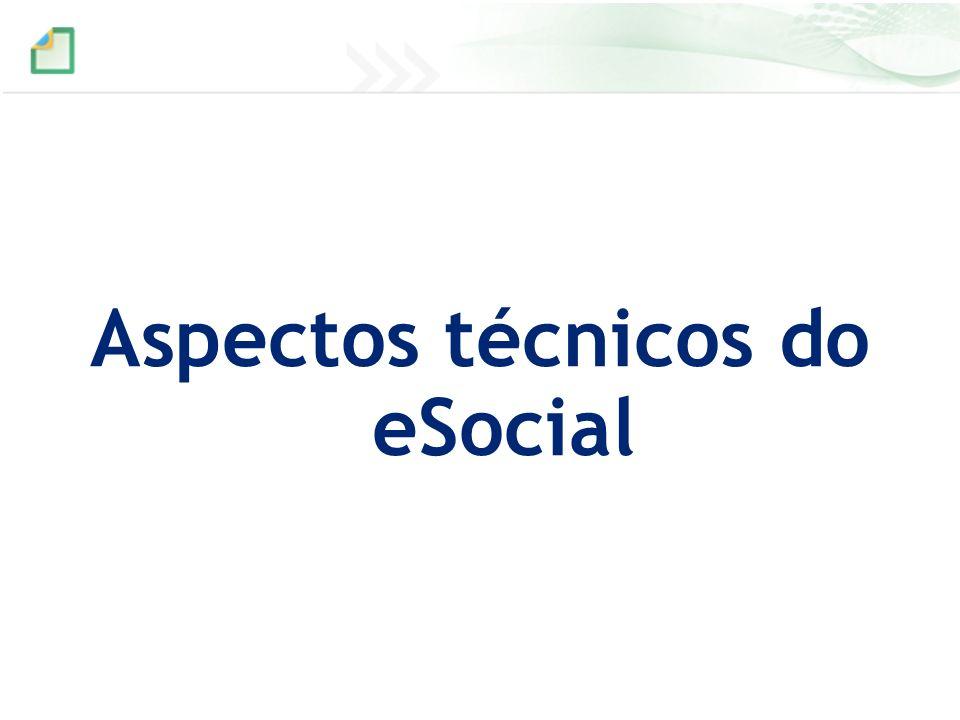 Aspectos técnicos do eSocial