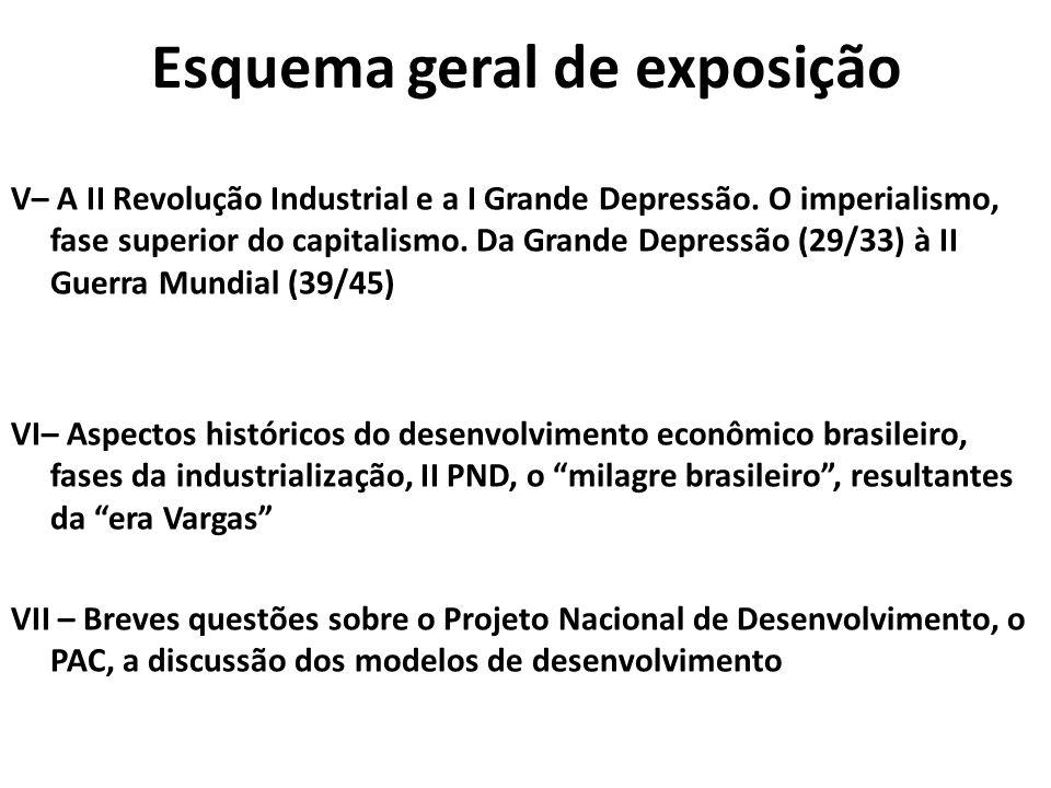 5ª PARTE A II Revolução Industrial e a I Grande Depressão.