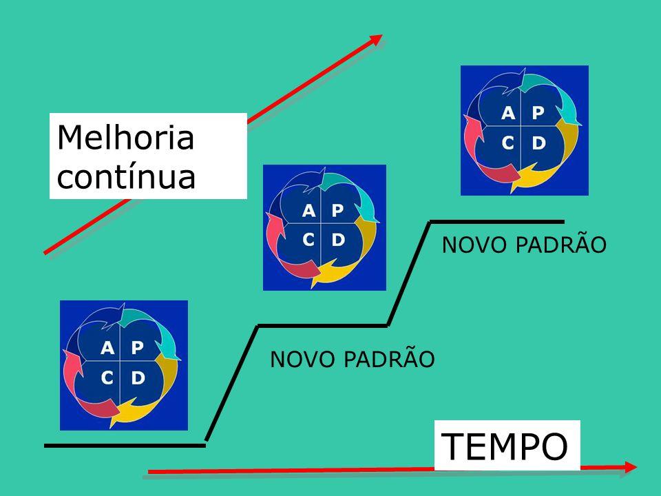 TEMPO Melhoria contínua NOVO PADRÃO