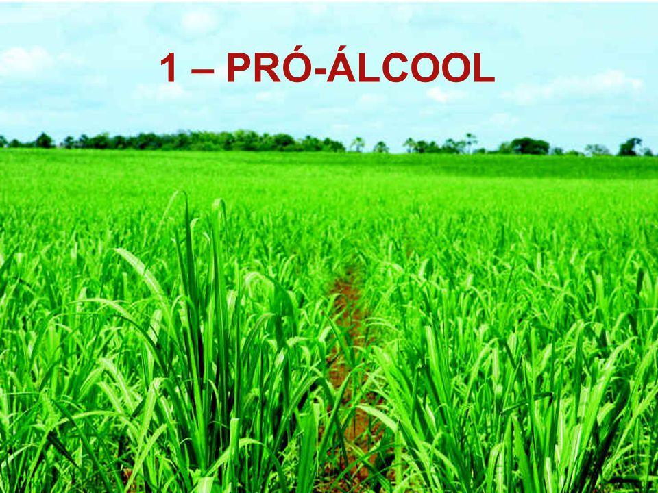 1 - PROÁLCOOL 1 – PRÓ-ÁLCOOL