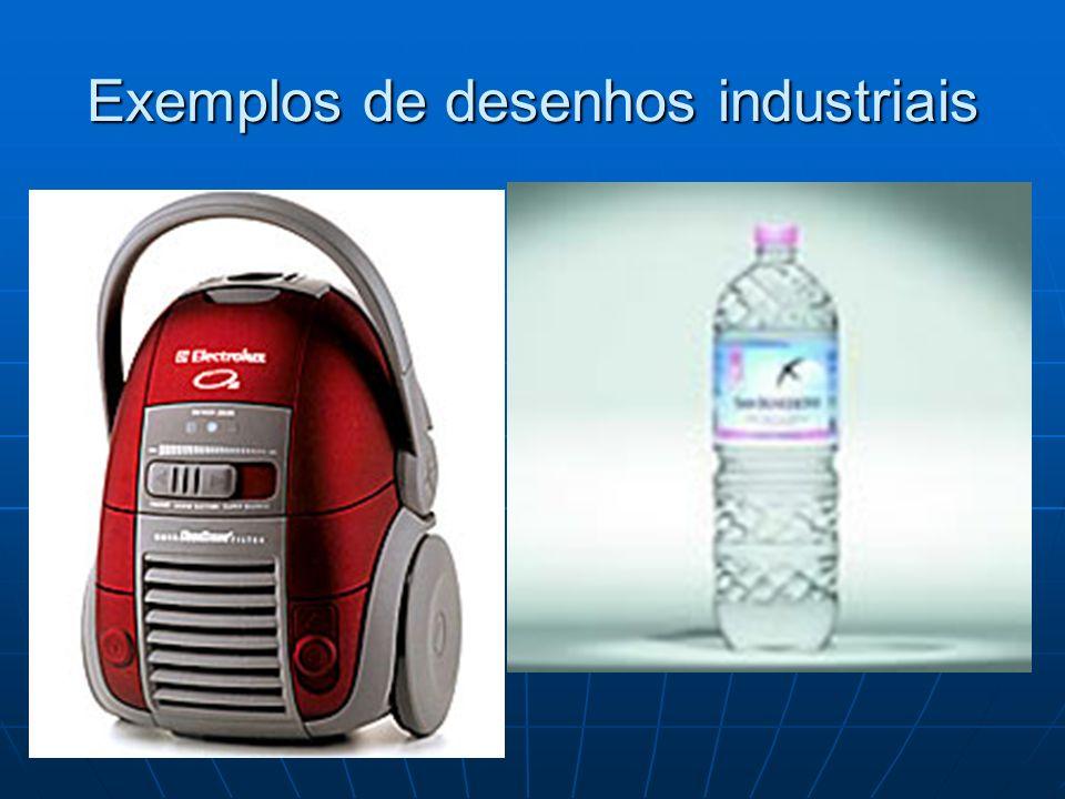 Exemplos de desenhos industriais