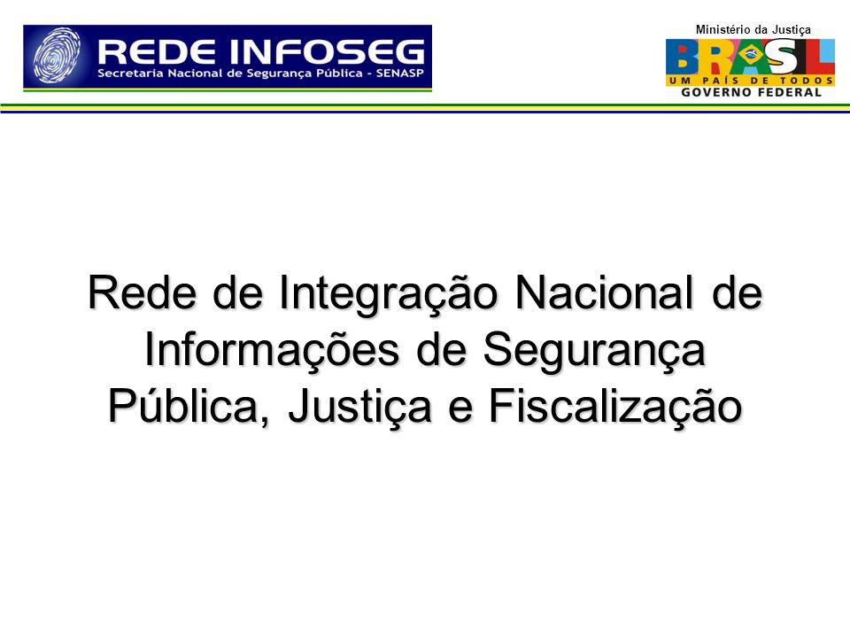 Ministério da Justiça Rede de Integração Nacional de Informações de Segurança Pública, Justiça e Fiscalização