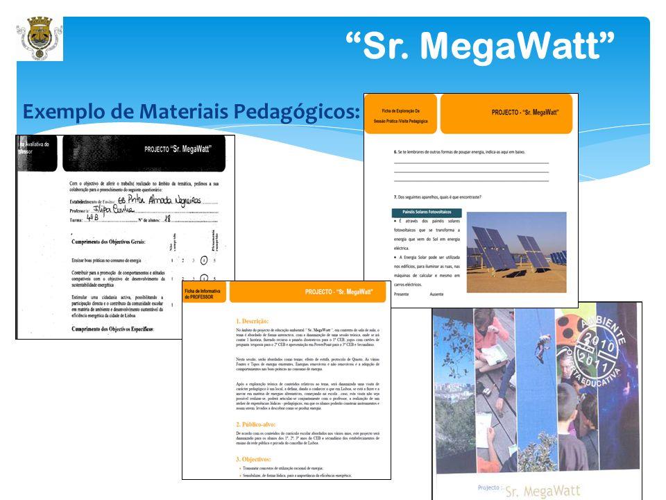 Sr. MegaWatt DINAMIZAÇÃO DAS SESSÕES: