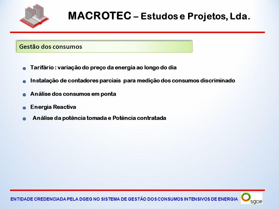 MACROTEC – Estudos e Projetos, Lda. ENTIDADE CREDENCIADA PELA DGEG NO SISTEMA DE GESTÃO DOS CONSUMOS INTENSIVOS DE ENERGIA Variação da potência do tra