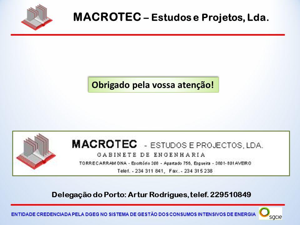 MACROTEC – Estudos e Projetos, Lda. ENTIDADE CREDENCIADA PELA DGEG NO SISTEMA DE GESTÃO DOS CONSUMOS INTENSIVOS DE ENERGIA Gestão dos consumos Tarifár
