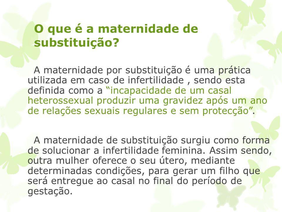 Procriação Medicamente Assistida Maternidade de substituição Mafalda Lagoa; Rui Jorge; Tomás Mendes; João Tiago;
