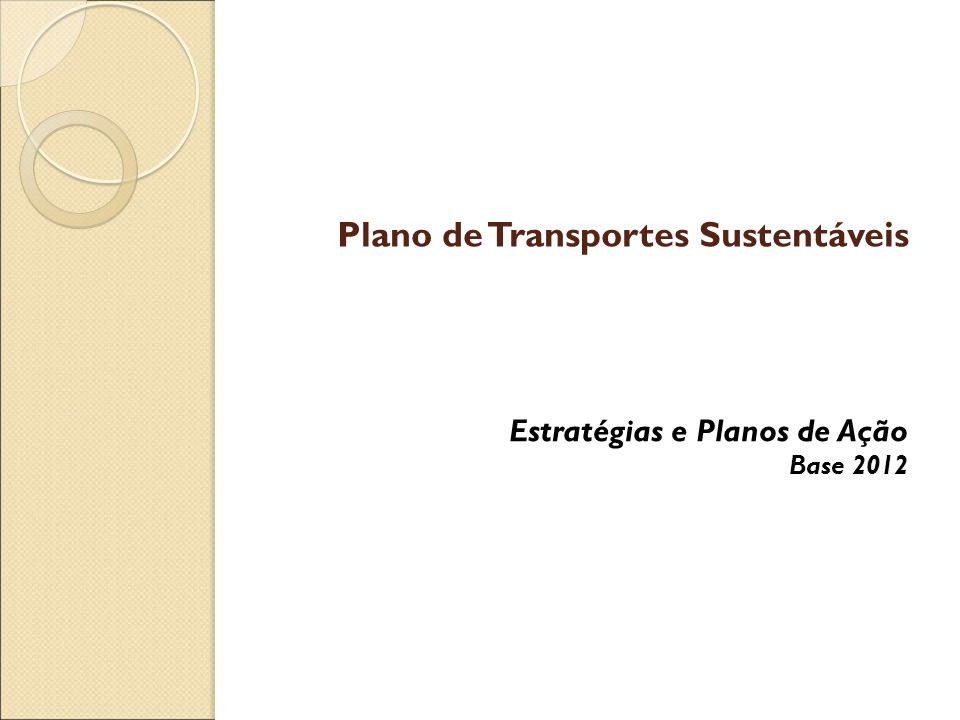 Plano de Transportes Sustentáveis Estratégias e Planos de Ação Base 2012