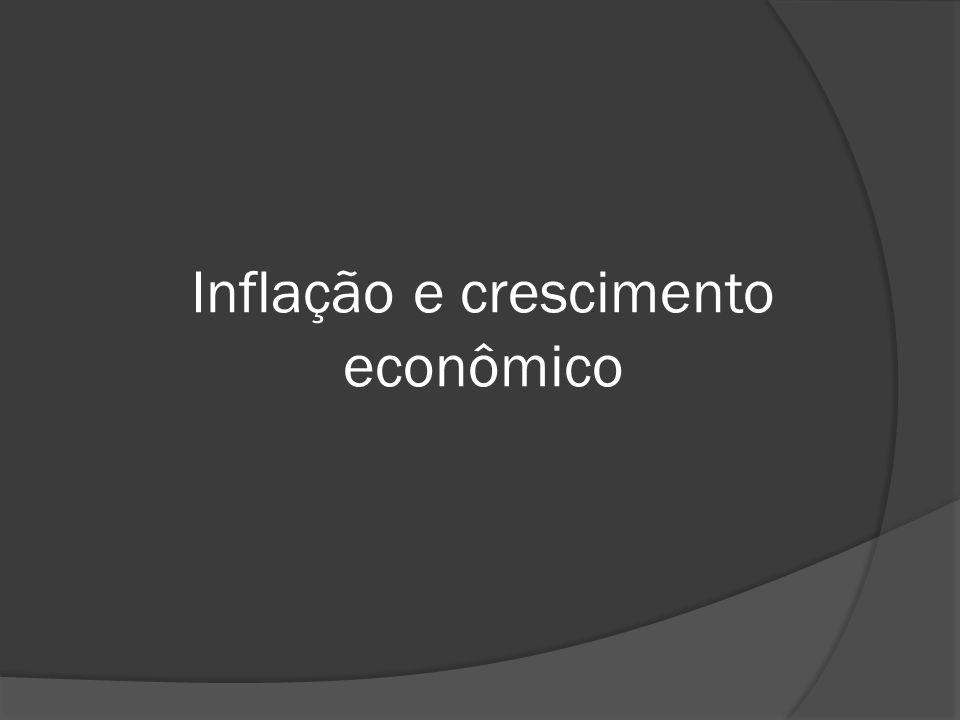 Inflação e crescimento econômico