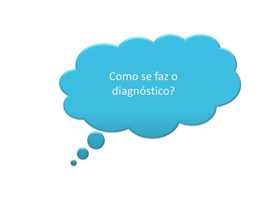 Como se faz o diagnóstico?