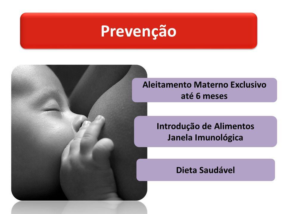 Aleitamento Materno Exclusivo até 6 meses Introdução de Alimentos Janela Imunológica Dieta Saudável