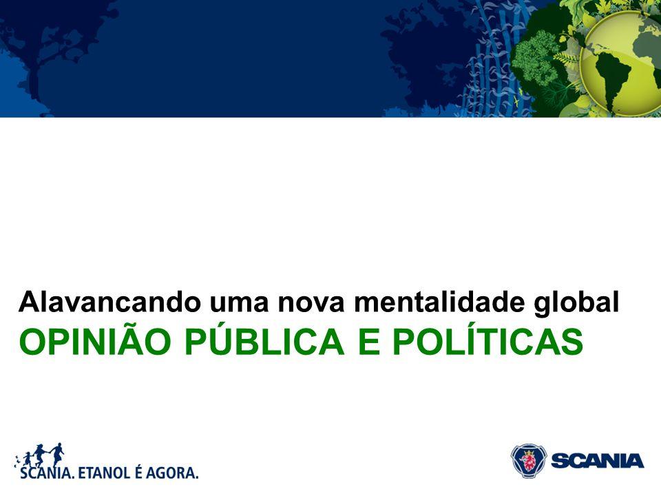 OPINIÃO PÚBLICA E POLÍTICAS Alavancando uma nova mentalidade global