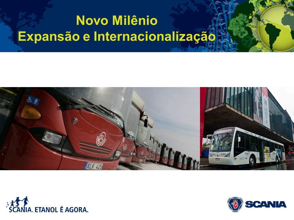 Novo Milênio Expansão e Internacionalização November 2010