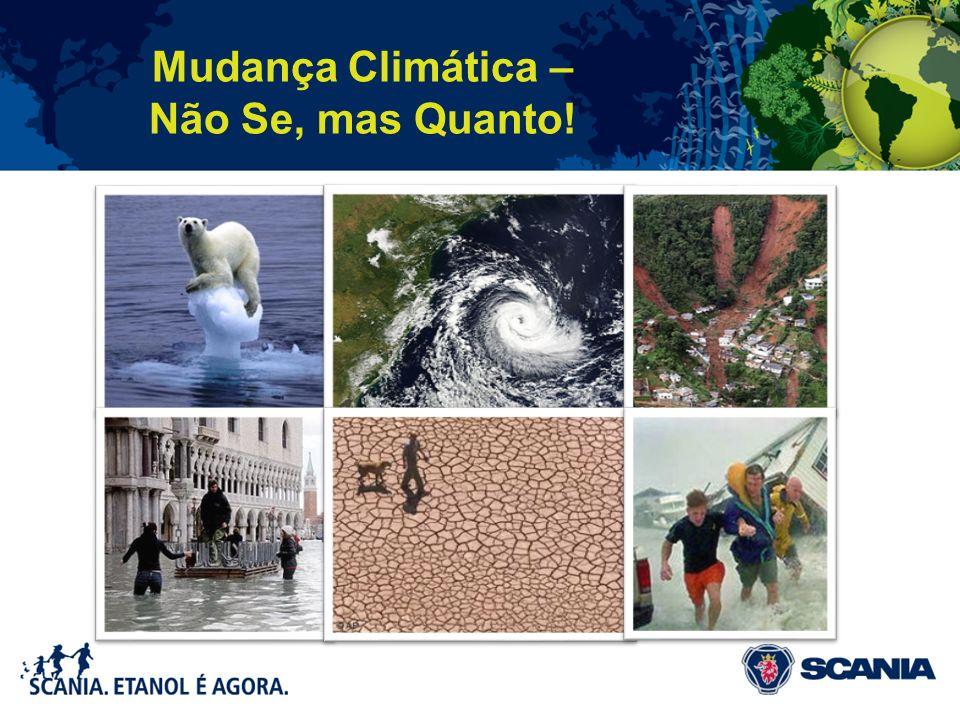 Mudança Climática – Não Se, mas Quanto!