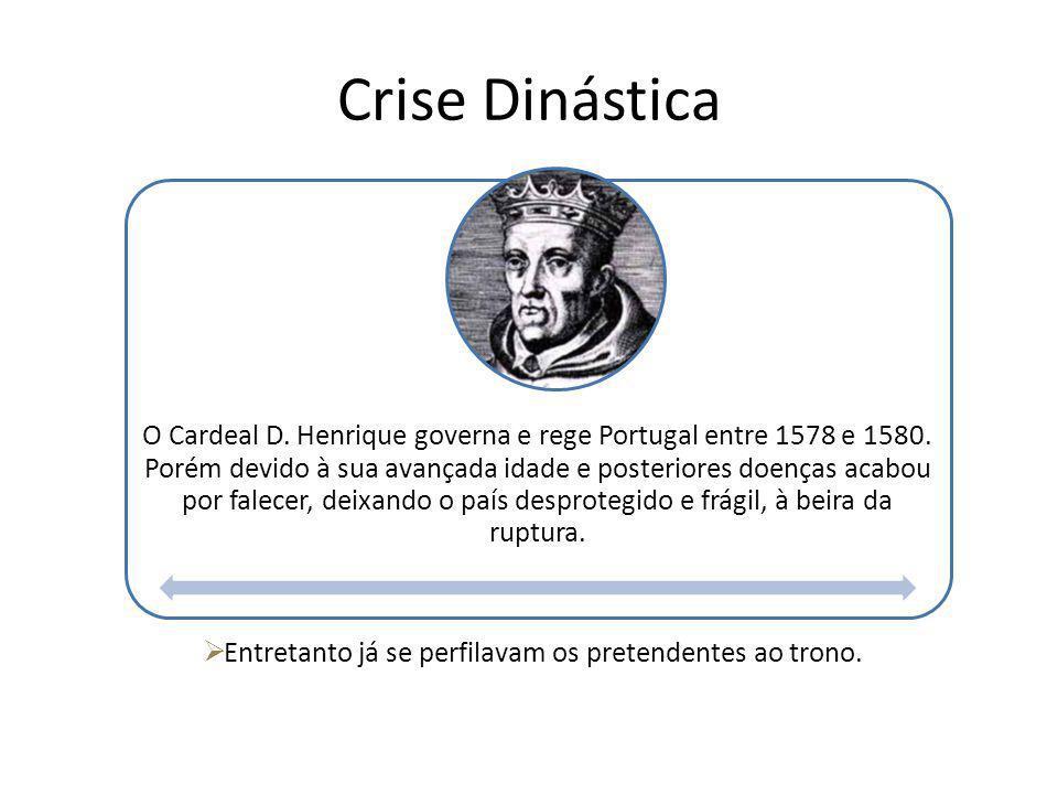 O Cardeal D. Henrique governa e rege Portugal entre 1578 e 1580. Porém devido à sua avançada idade e posteriores doenças acabou por falecer, deixando